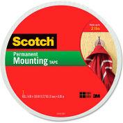 "Scotch® Foam Mounting Double-Sided Tape, 3/4"" Wide x 350"" Long"