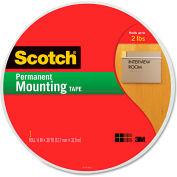 "Scotch® Foam Mounting Tape, 3/4"" Wide x 1368"" Long"