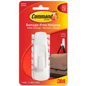 3M Command™ General Purpose Hooks, 5-lb Capacity, Plastic, White