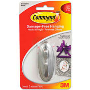 3M Command™ Decorative Hooks, Traditional, Medium