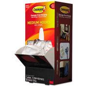 3M Command™ General Purpose Hooks, Designer, 3lbs Capacity, White, 50/Carton