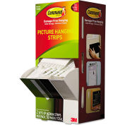 """3M Command™ Picture Hanging Strips, 5/8"""" x 2 3/4"""", White, 50/Carton"""