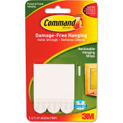 "3M Command™ Picture Hanging Removable Interlocking Fasteners, 5/8"" x 2 3/4"", Set of 3"