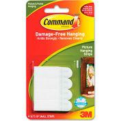 """3M Command™ Picture Hanging Removable Interlocking Fasteners, 5/8"""" x 1 3/8"""", Set of 4"""