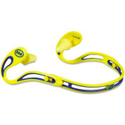 3M™ 322-2000 EAR Swerve Banded Hearing Protector, Corded, Yellow
