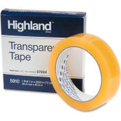 """Highland™ Transparent Tape, 1"""" x 2592"""", 3"""" Core, Clear"""