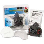 3M™ R6311 Half Facepiece Paint Spray/Pesticide Respirator, Large