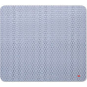 3M Precise Mouse Pad, Nonskid Repositionable Adhesive Back, 9 x 8, Gray/Bitmap
