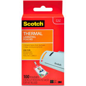 Scotch® ID Badge Size Thermal Laminating Pouches, 5 mil, 4 1/4 x 2 1/5, 100/Pack