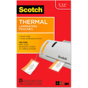Scotch® Luggage Tag Size Thermal Laminating Pouches, 5 mil, 4 1/5 x 2 1/2, 25/Pack