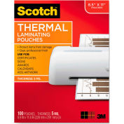 Scotch® Letter Size Thermal Laminating Pouches, 5 mil, 11 1/2 x 9, 100/Pack