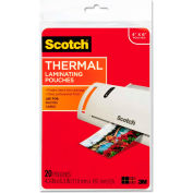 Scotch® Photo Size Thermal Laminating Pouches, 5 mil, 6 x 4, 20/Pack