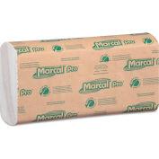 Marcal PRO®  Folded Paper Towels, 10-1/2x12-3/4,C-Fold, White, 150/Pk, 16 Pk/Cs - P100B