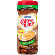 Nestle® Coffee-Mate; Non-Dairy Sugar Free Powdered Creamer, Creamy Chocolate, 10.2 oz.