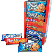 Nabisco Variety Pack Cookies, Assorted, 1.75 Oz, 12/Box