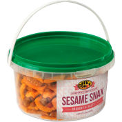 Office Snax All Tyme Favorite Nuts, Sesame Snax Mix, Resealable 13 Oz Tub