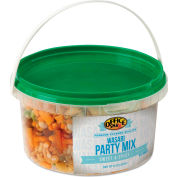 Office Snax All Tyme Favorite Nuts, Wasabi Party Mix, Resealable 10 Oz Tub