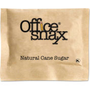Office Snax® Natural Cane Sugar, 2000 Packets/Carton