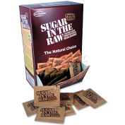 Sugar in the Raw, Unrefined Sugar Made From Sugar Cane, 200 Packets/Box