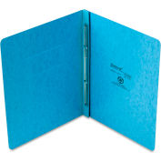 "Oxford® PressGuard Report Cover, Prong Clip, Letter, 3"" Capacity, Light Blue"