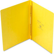 "Oxford® PressGuard Report Cover, Prong Clip, Letter, 3"" Capacity, Yellow"