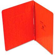 "Oxford® PressGuard Report Cover, Prong Clip, Letter, 3"" Capacity, Tangerine"