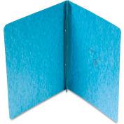 "Oxford® Pressboard Report Cover, 2 Prong Fastener, Letter, 3"" Capacity, Light Blue"