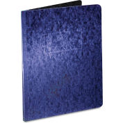 "Oxford® Pressboard Report Cover, 2 Prong Fastener, Letter, 3"" Capacity, Dark Blue"