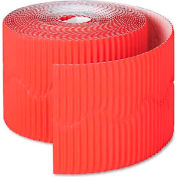 "Pacon 37036 Bordette Decorative Border, 2 1/4"" x 50' Roll, Flame Red"