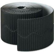 "Pacon 37306 Bordette Decorative Border, 2 1/4"" x 50' Roll, Black"