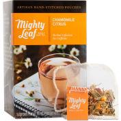 Mighty Leaf® Tea Whole Leaf Tea Pouches, Chamomile Citrus, 15/Box