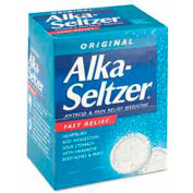 Alka-Seltzer 80659297 Antacid and Pain Relief Medicine, 50 Two-Packs/Box