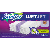"Swiffer® WetJet System Refill Cloths 14"" x 3"", 24 Cloths/Box 1/Case - PGC08443"