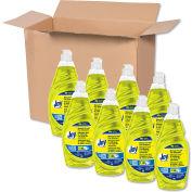 Joy Manual Dish Detergent Liquid, Lemon, 38 oz. Bottle, 8 Bottles - 45114
