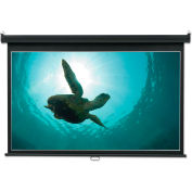 Quartet® Wide Format Wall Mount Projection Screen, 65 x 116, White