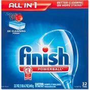 FINISH® Powerball Dishwasher Tabs Fresh, 32 Tabs/Box 8/Case - RAC81049CT