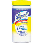 "Lysol Brand® Citrus Disinfecting Wipes, 7"" X 8"", 75/Canister - RAC81700"