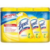 LYSOL® Disinfecting Wipes Lemon//Lime Blossom, 240 Wipes/3-Pack 2/Case - RAC84251CT