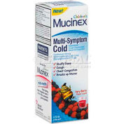 Mucinex 63824-84823 Multi-Symptom Liquid Cold Formula, Very Berry, 4 oz Bottle