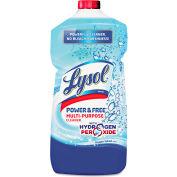 LYSOL® Power & Free Multi-Purpose Cleaner Oxygen Splash, 28oz Bottle 1/Case - RAC89083