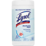 LYSOL® Disinfecting Wipes Crisp Linen, 80 Wipes/Can 1/Case - RAC89346