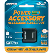 Rayovac® Single USB Wall AC Charger, Cell Phones/Cameras/Mobile Devices