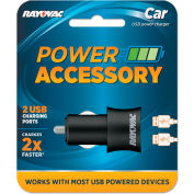 Rayovac® Dual USB Car Charger, Cell Phones/Cameras/Mobile Devices