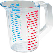 Rubbermaid® Commercial Bouncer Measuring Cup, 16 Oz., Clear