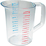Rubbermaid® Commercial Bouncer Measuring Cup, 2 Qt., Clear Polycarbonate
