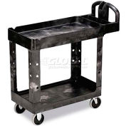 "Rubbermaid® 4500-88 Tray Shelf Plastic Service Cart 2 Shelves 5"" Casters"