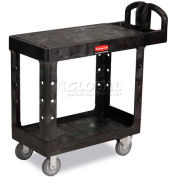 Rubbermaid® 4505 Flat Shelf Plastic Service & Utility Cart 39 x 17