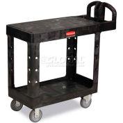 Rubbermaid® 4505 Flat Shelf Plastic Service & Utility Cart 39 x 17