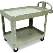 Rubbermaid® 4520-88 Beige HD Tray Shelf Service Cart 44 x 25