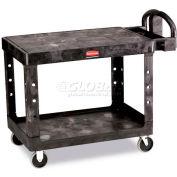 Rubbermaid® 4525 Flat Shelf Plastic Service & Utility Cart 44 x 25